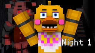 MINE Nights at Freddy's 2 - FACTORY | Night 1 | FNAF Minecraft Roleplay