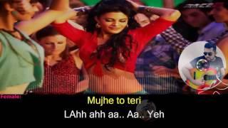 Lat Lag Gayee karaoke with synced lyrics