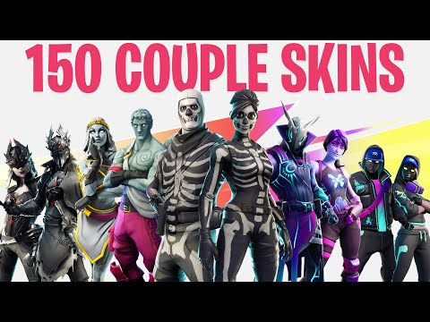 FORTNITE ALL COUPLE SKINS