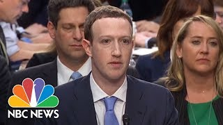 Senator Asks How Facebook Remains Free, Mark Zuckerberg Smirks: 'We Run Ads' | NBC News