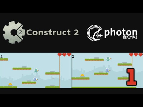 Multiplayer | Мультиплеер | Construct 2 and Photon