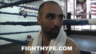 PAULIE MALIGNAGGI GIVES HONEST ANALYSIS OF SAM EGGINGTON CLASH; INSISTS HE'S THE BETTER FIGHTER