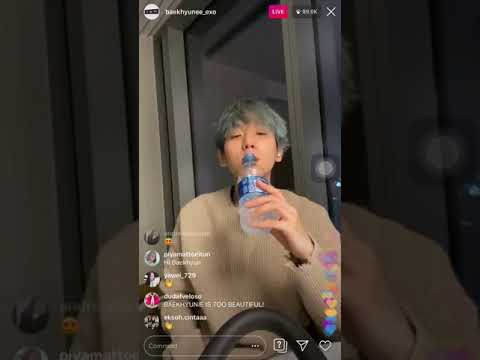 "BAEKHYUN EXO ""MY LOVE"" @LIVE IG 200212"