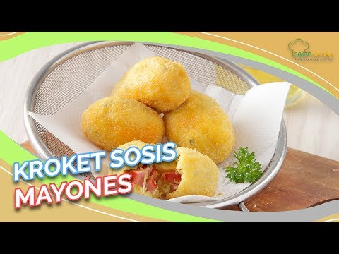 Resep Membuat Kroket Sosis Mayones Enak dan Sederhana, Bikin Ketagihan!