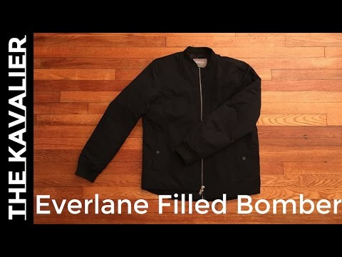 2e8805466 First Look - A Great Bomber Jacket   Everlane Unboxing and Review