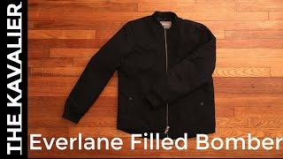 First Look - A Great Bomber Jacket | Everlane Unboxing and Review