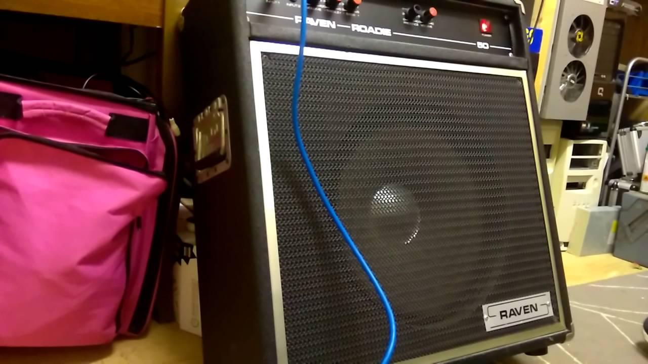 vintage amp Raven