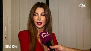 """نانسي عجرم تعلن حملها من """"أعياد بيروت"""" وتتحدّث عن العائلة لأغاني أغاني!"""