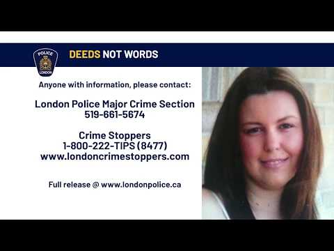 Unsolved Murders - London Police Service