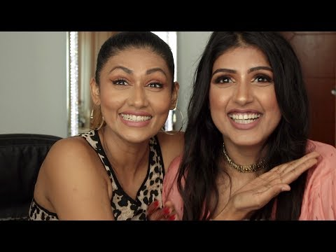 INDIAN GIRL GIVES PAKISTANI SUBSCRIBER A MAKEOVER | Bosslady Shruti