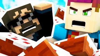 BATHING IN MINECRAFT CAKE WITH SSUNDEE!!