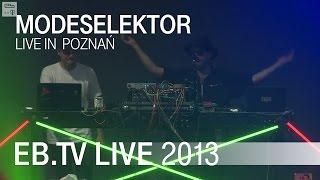 Modeselektor live in Poznań (2013)