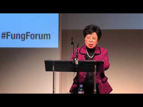 Margaret Chan Delivers a Fung Forum Keynote Address
