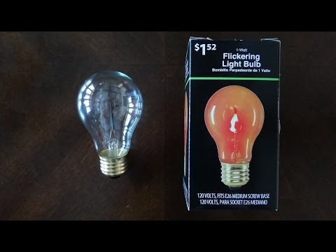 Walmart Flickering Flame Light Bulbs