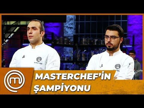 MasterChef Türkiye 2020'nin ŞAMPİYONU!
