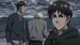 Titan  Reiner Bertholdt and Eren Titan Transformation   Attack on Titan Season 2