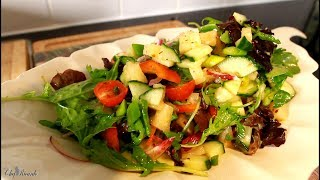 How To Make Best  Pineapple Salad For Your  Sunday Dinner Salad   | Chef Ricardo Cooking