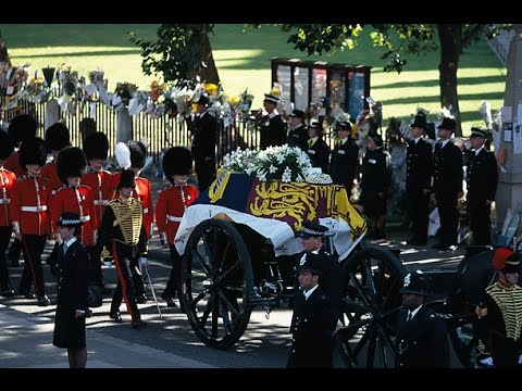 The Funeral Of Princess Diana 1997 Youtube