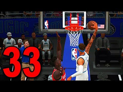 NEW DUNK ANIMATIONS (Finally) - NBA 2K18 My Player Career (Part 33)
