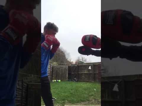Calvin Ashcroft -swing shot boxing