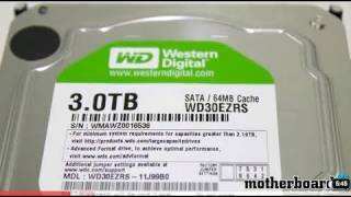 Western Digital 3TB Green Hard Drive Review & Benchmarks