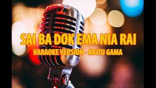Karaoke - Ohin Hau Sai Ba dok Ema Nia Rai - Abitu Gama