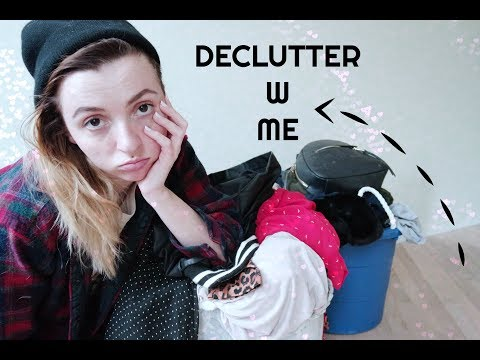 Declutter clothing with me!