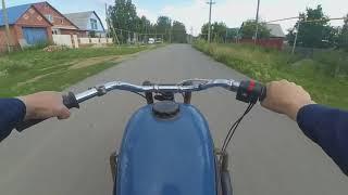МОТОТАЗ ВАЛИТ!!! Мотоцикл с двигателем от Ваз 2109.Часть 12.