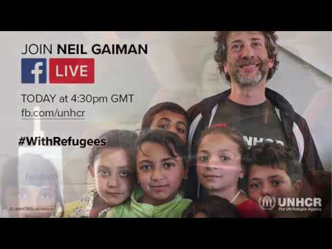 Neil Gaiman live with UNHCR: The UN Refugee Agency