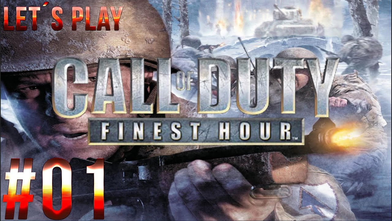 Let S Play Call Of Duty Finest Hour Part 01 Gcn German Hd Youtube