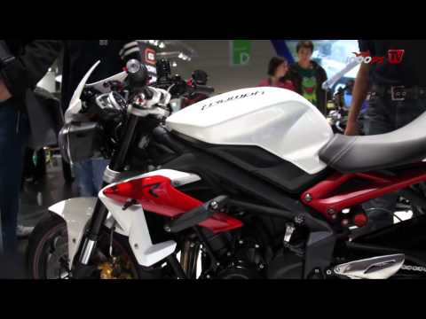 Triumph Street Triple/Street Triple R 2013-Intermot 2012