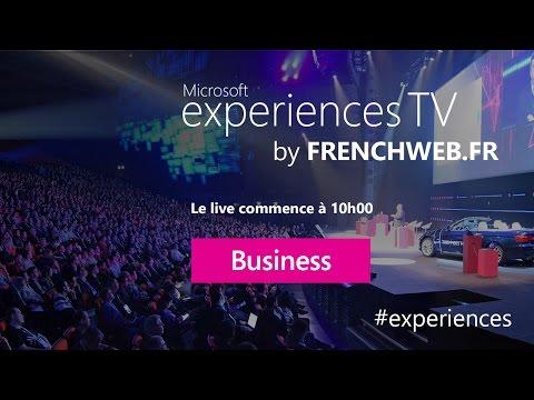 Microsoft Experiences Jour 1 (L'Express)