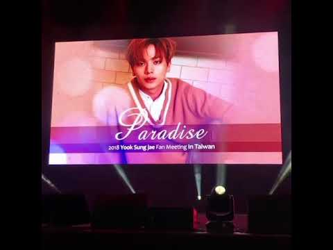 180211 Sungjae's Fanmeeting in Taiwan - Young Love & Bbyu Videos