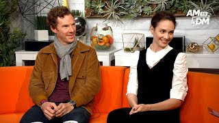 """Benedict Cumberbatch And Tuppence Middleton Talk About Their Film """"The Current War"""