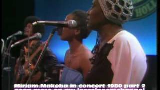 Miriam Makeba in concert 1980 part 2 ( solo Bongi Makeba )