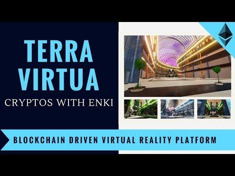 Terra Virtua - Blockchain Driven Virtual Reality Platform   Crypto DApps