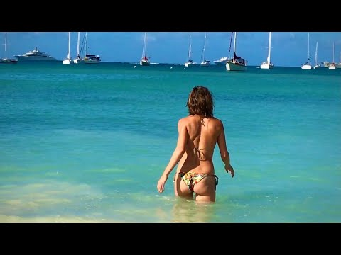 Beautiful St. Barts - Eden Rock, St. Jean, Nikki Beach in Ultra HD