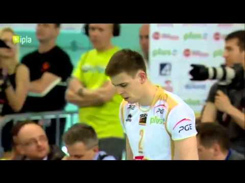 Skra Bełchatów 7 points in a row and Wlazły show
