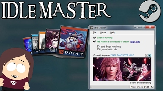 Idle Master || Get your Steam Trading Cards the Easy Way
