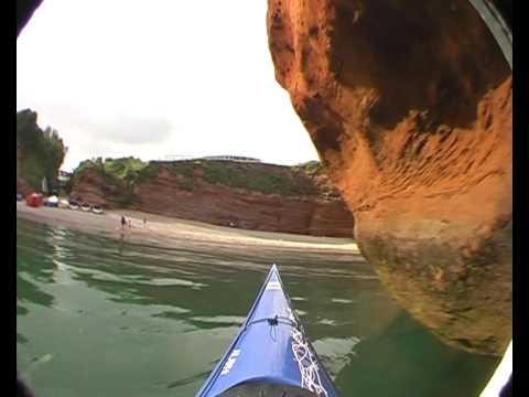 Devon Sea Kayaking - Ladram Bay.
