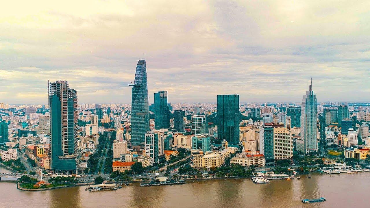 District 1, Ho Chi Minh City, Vietnam [ 4k ] | Toàn Cảnh Quận 1 – Trung Tâm Kinh Tế Của Sài Gòn