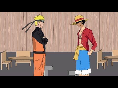 One piece vs naruto 3.0; If Naruto Met Luffy Youtube