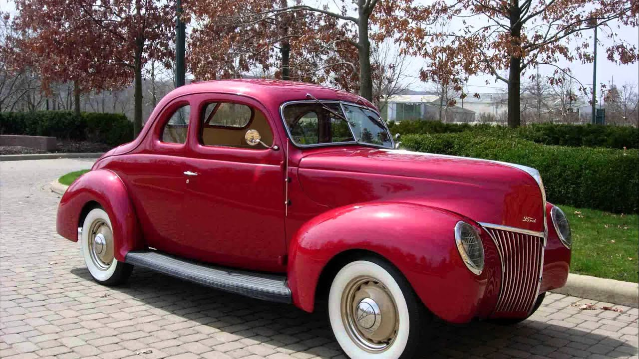 Movie Cars For Sale >> 1939 ford coupe - YouTube