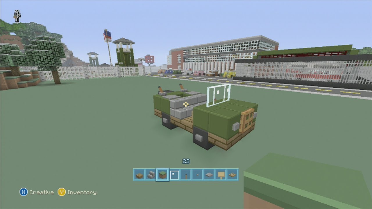 SPANKLECHANKS Minecraft Tutorials How To Make An ARMY Truck YouTube