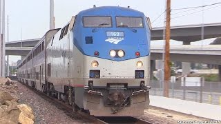 Amtrak Trains (Spring 2015) + BNSF OFFICER SPECIAL