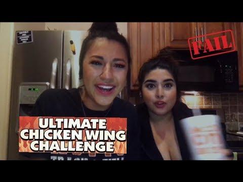 Wingstop Atomic Wings Challenge Vomit Alert Youtube