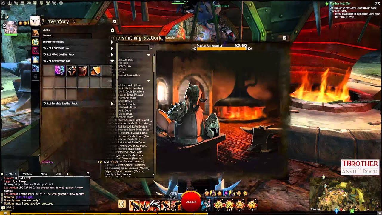 Guild Wars 2   Crafting Twilight   Gift of Darkness - Road to a ...