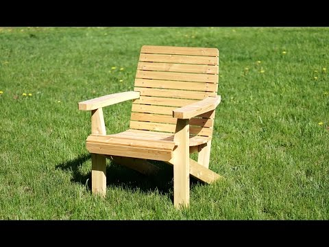 How To Make A Lawn Chair featuring DEWALT®  FLEXVOLT Tools (sponsored)