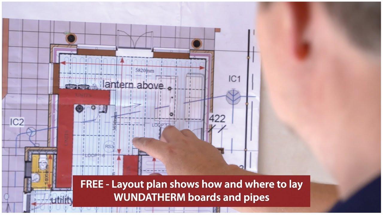 Underfloor Heating - Wundatherm Installation Overview - YouTube | Wunda Underfloor Heating Wiring Diagram |  | YouTube