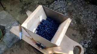 Дробилка для винограда своими руками